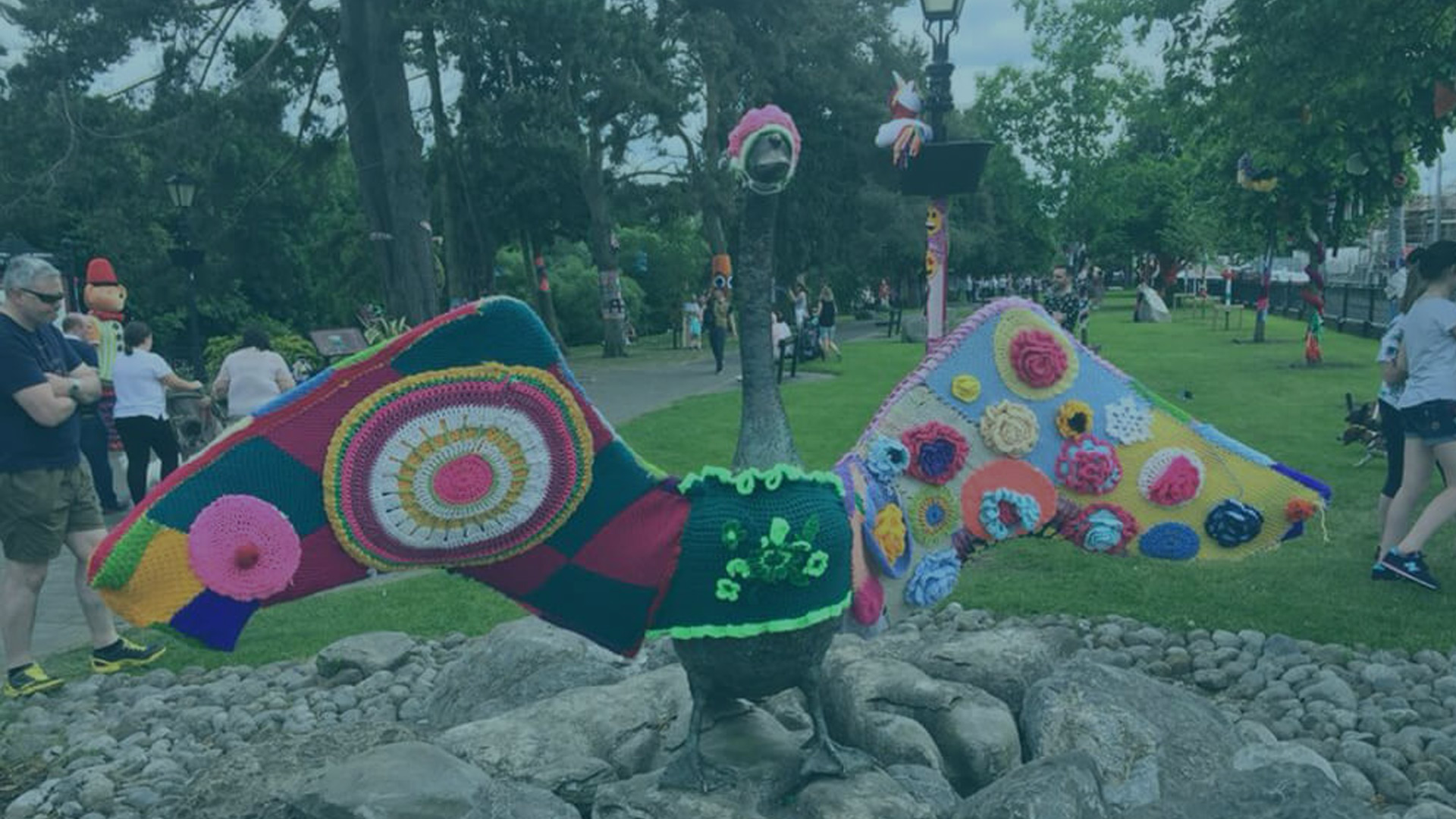 National Yarn Bomb Day – May 1st